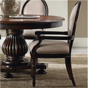 Hooker Furniture Eastridge Oval Back Arm Chair