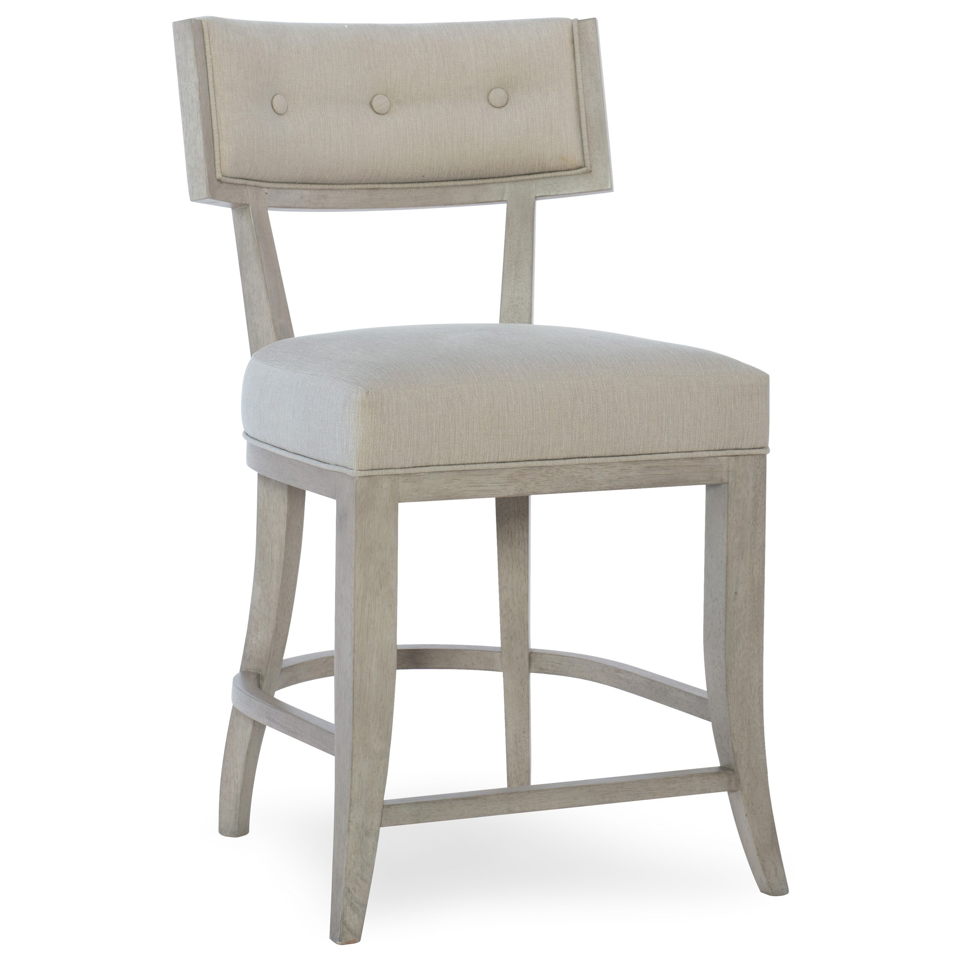 Hooker Furniture Elixir Klismos Upholstered Counter Stool