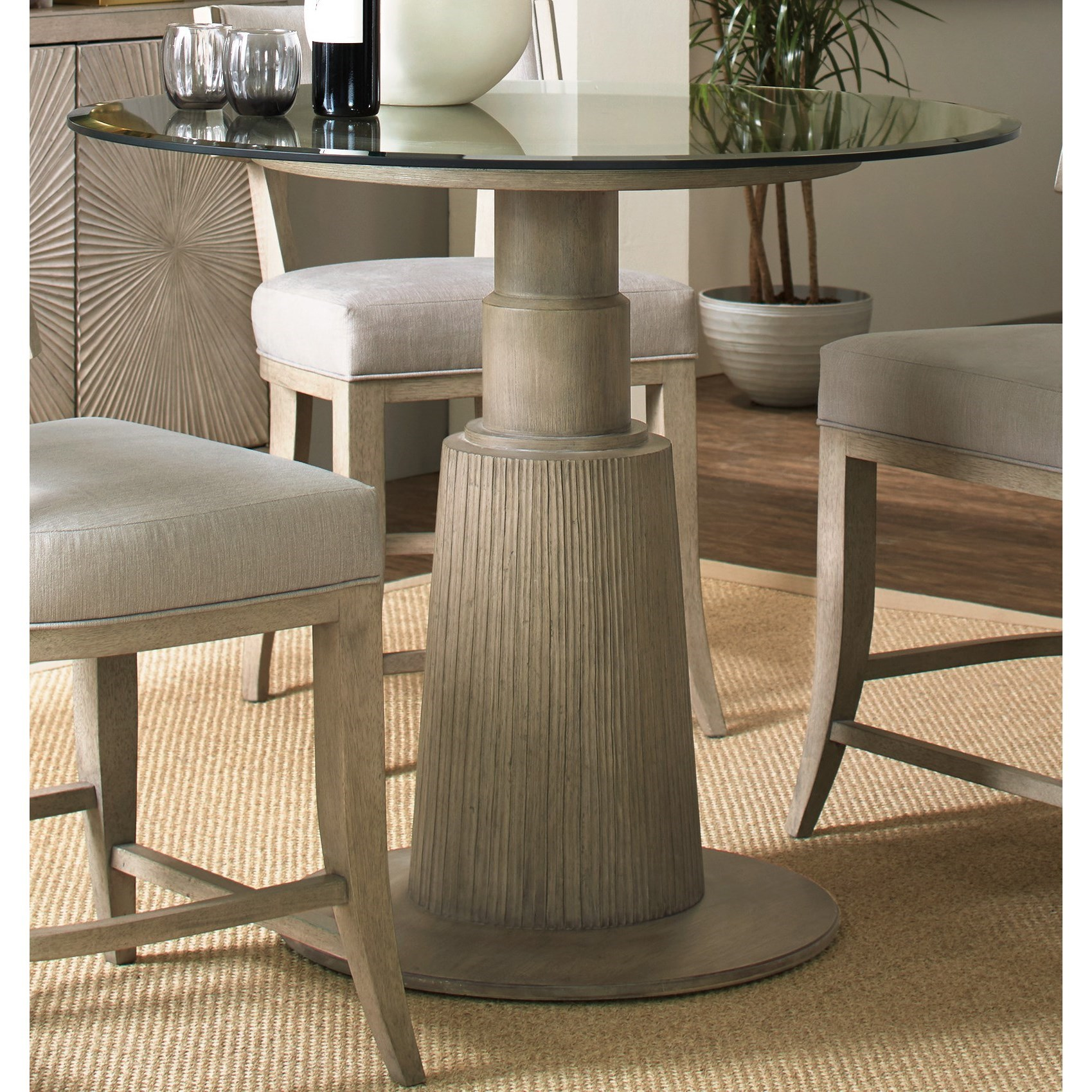 Hooker Furniture Elixir Adjustable Height Round Dining Table - Item Number: 5990-75203-42