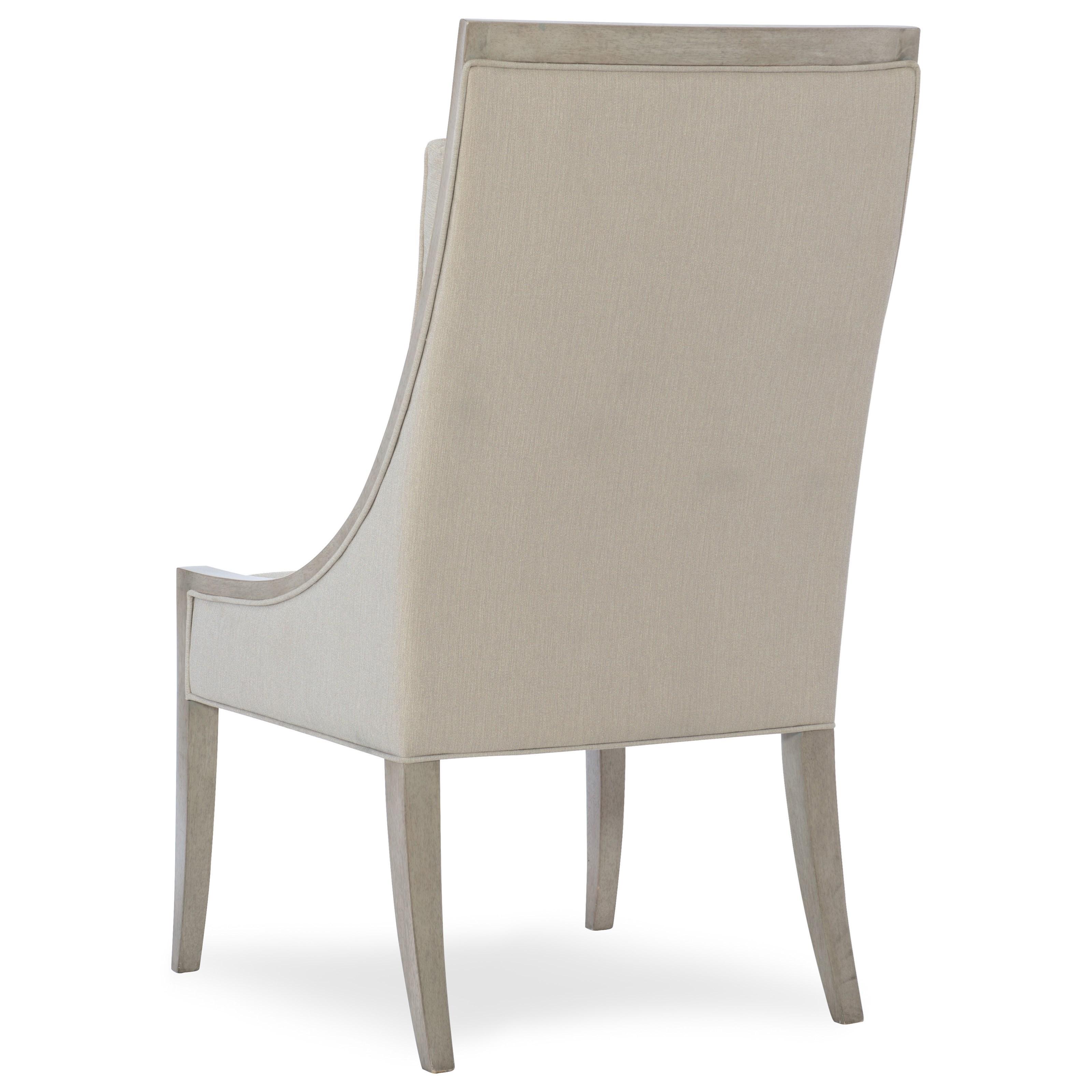 Hooker Furniture Elixir Upholstered Host Chair With Back