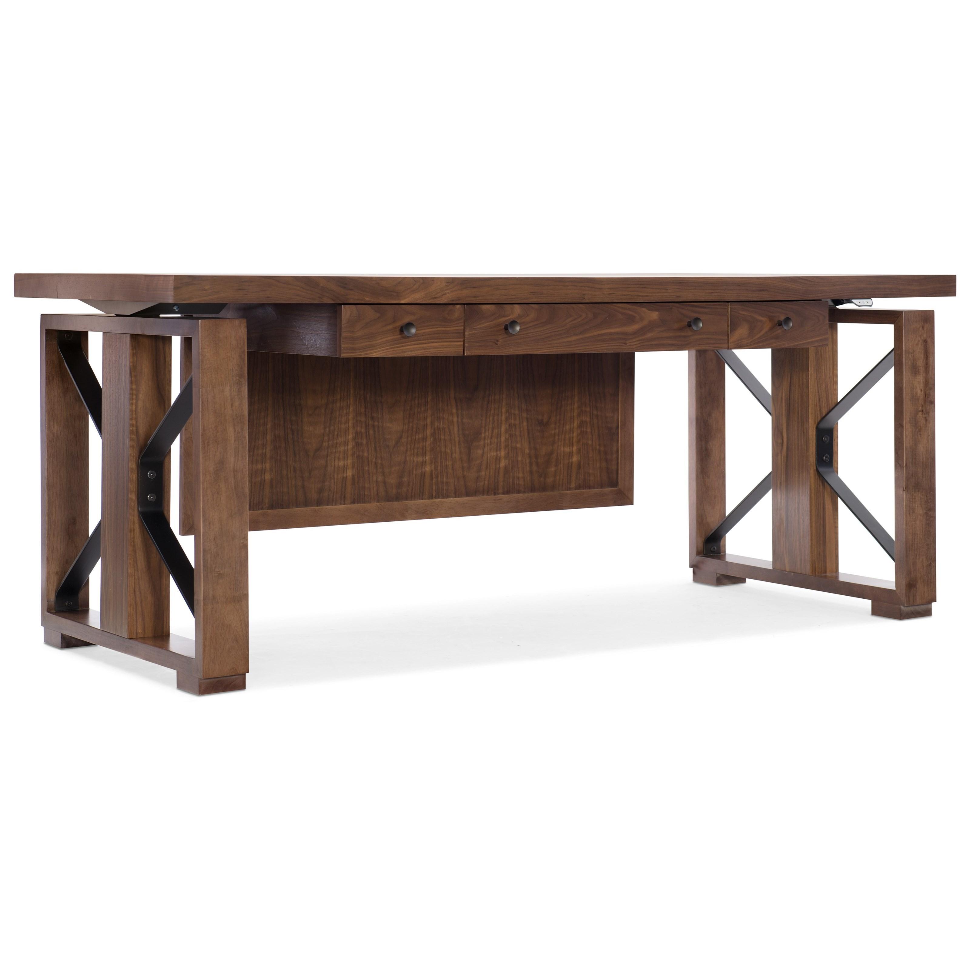 Elon Lift Desk by Hooker Furniture at Stoney Creek Furniture