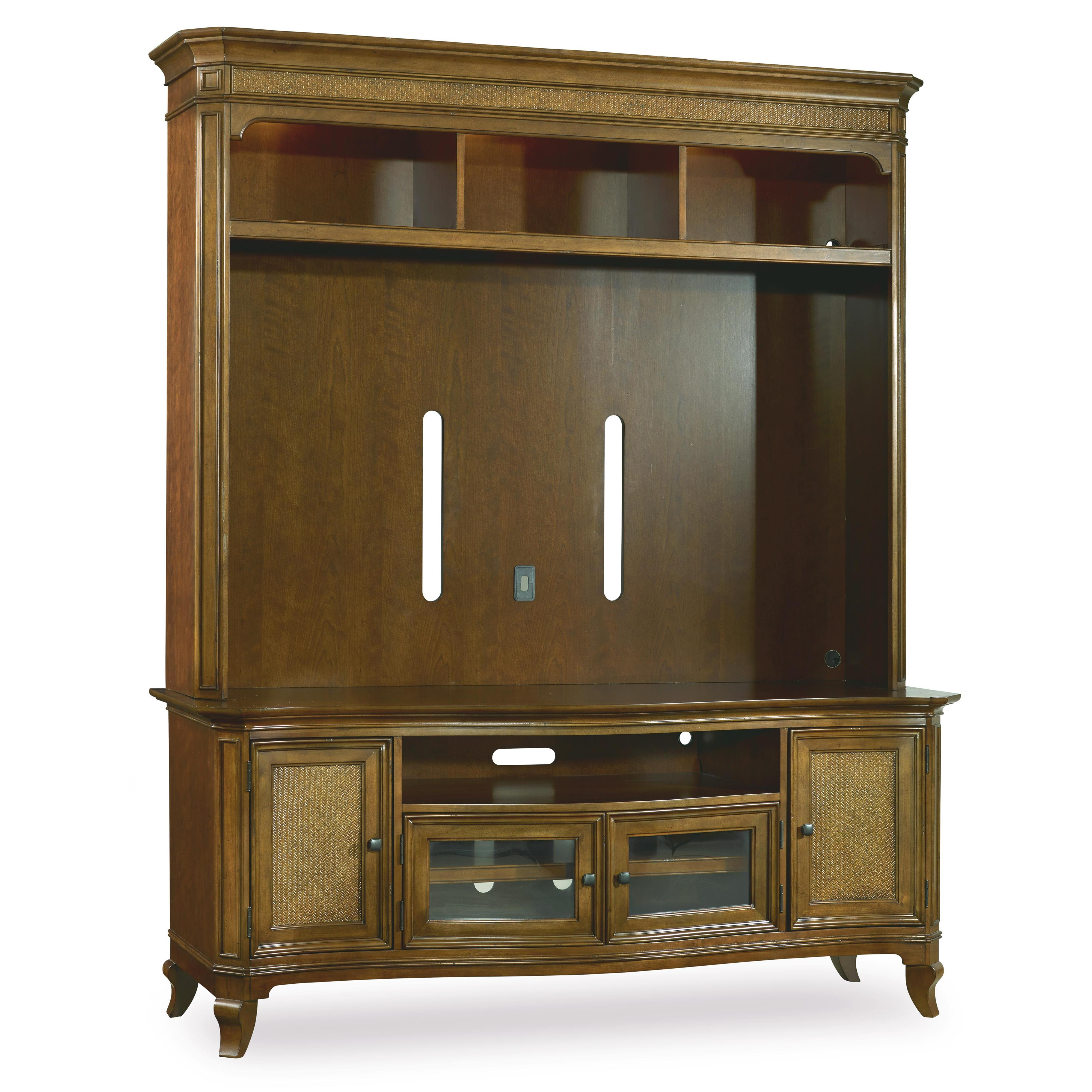 Hooker Furniture Windward Two Piece Entertainment Group - Item Number: 1125-55202