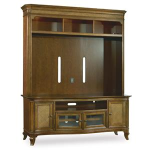 Hooker Furniture Windward Two Piece Entertainment Group