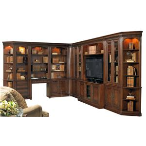 Hooker Furniture European Renaissance II Grand Scale Corner Wall Unit