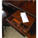 Hamilton Home European Renaissance II Office Desk with Hutch - Writing Insert