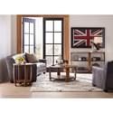 Hooker Furniture Glen Hurst End Table with Shelf