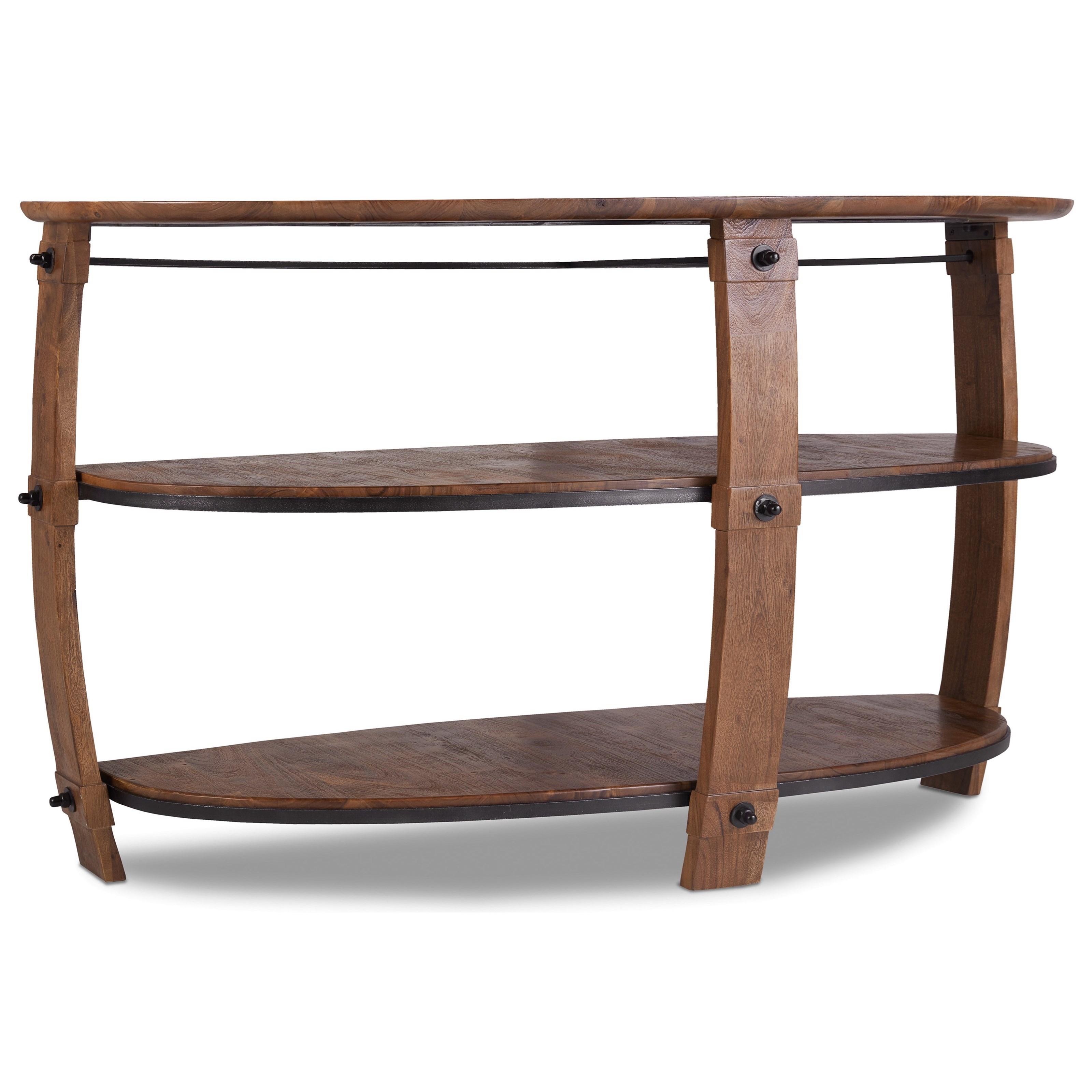 Hooker Furniture Glen Hurst Console Table - Item Number: 5513-80151-MWD