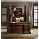Hooker Furniture Grand Palais Executive Desk with 7 Drawers