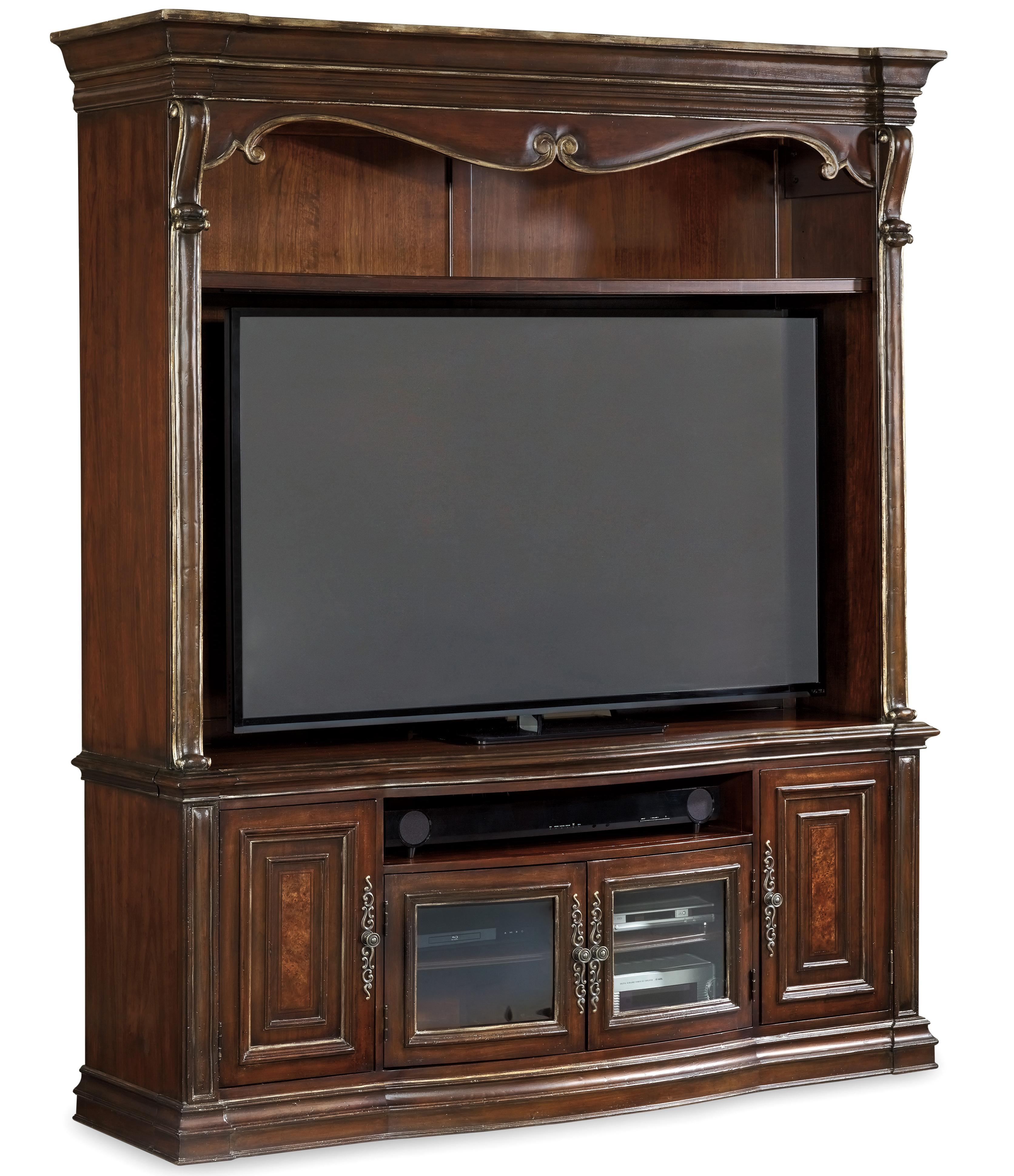 Hooker Furniture Grand Palais 2 Piece Entertainment Console - Item Number: 5272-70202