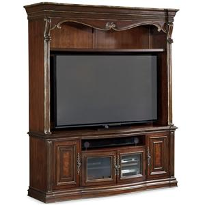 Hamilton Home Grand Palais 2 Piece Entertainment Console