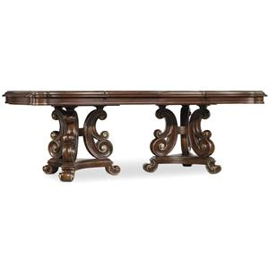 Hooker Furniture Grand Palais Pedestal Dining Table