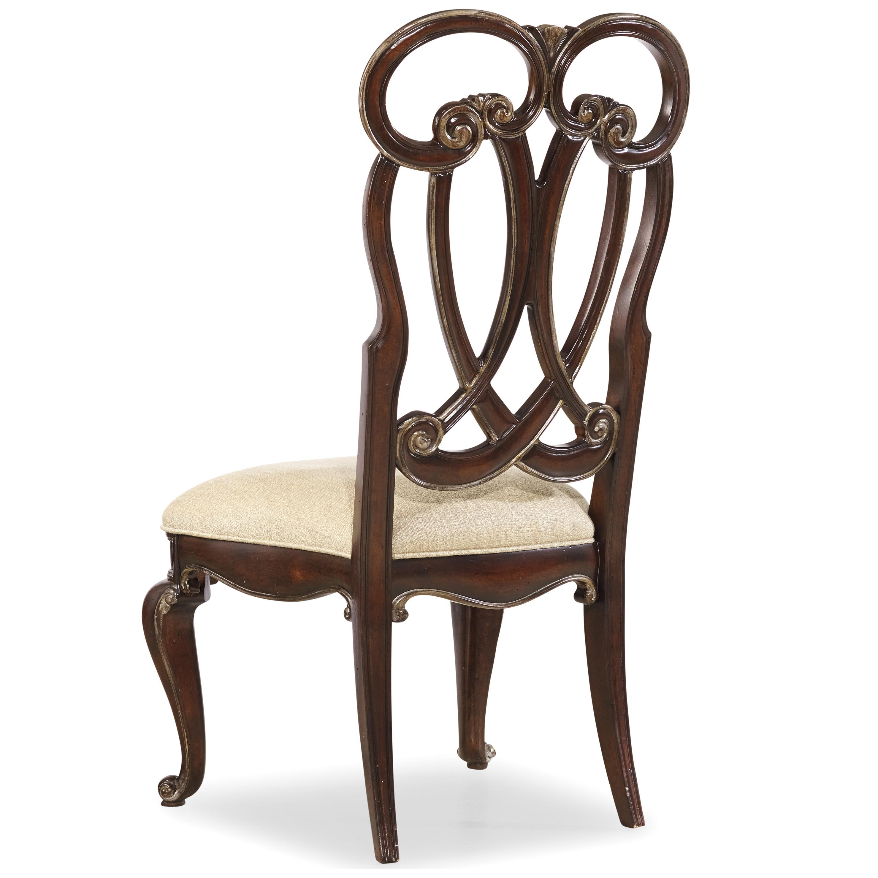 Hamilton Home Grand Palais Splat Back Side Chair - Item Number: 5272-75410