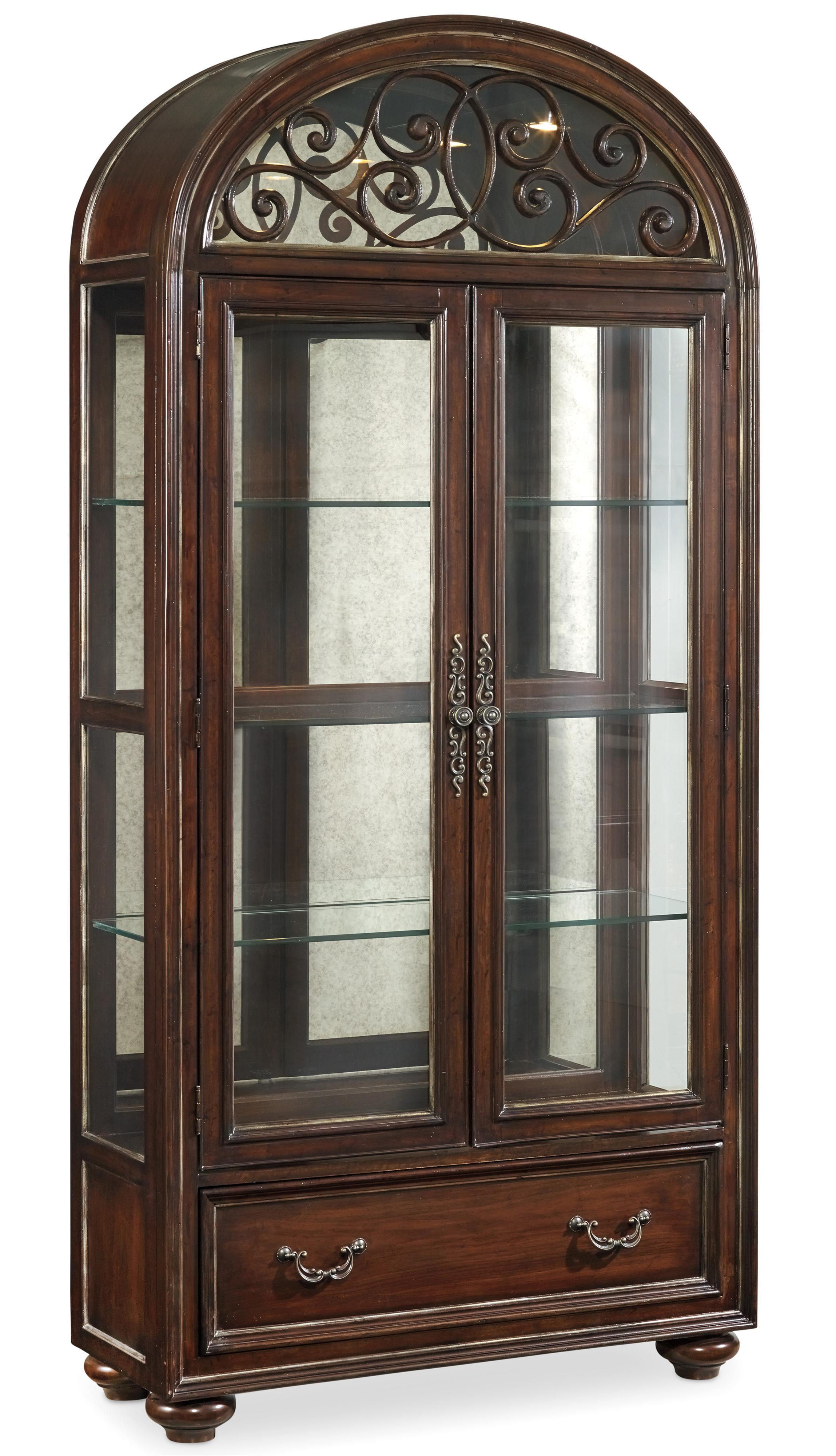 Hooker Furniture Grand Palais Display Cabinet - Item Number: 5272-75906