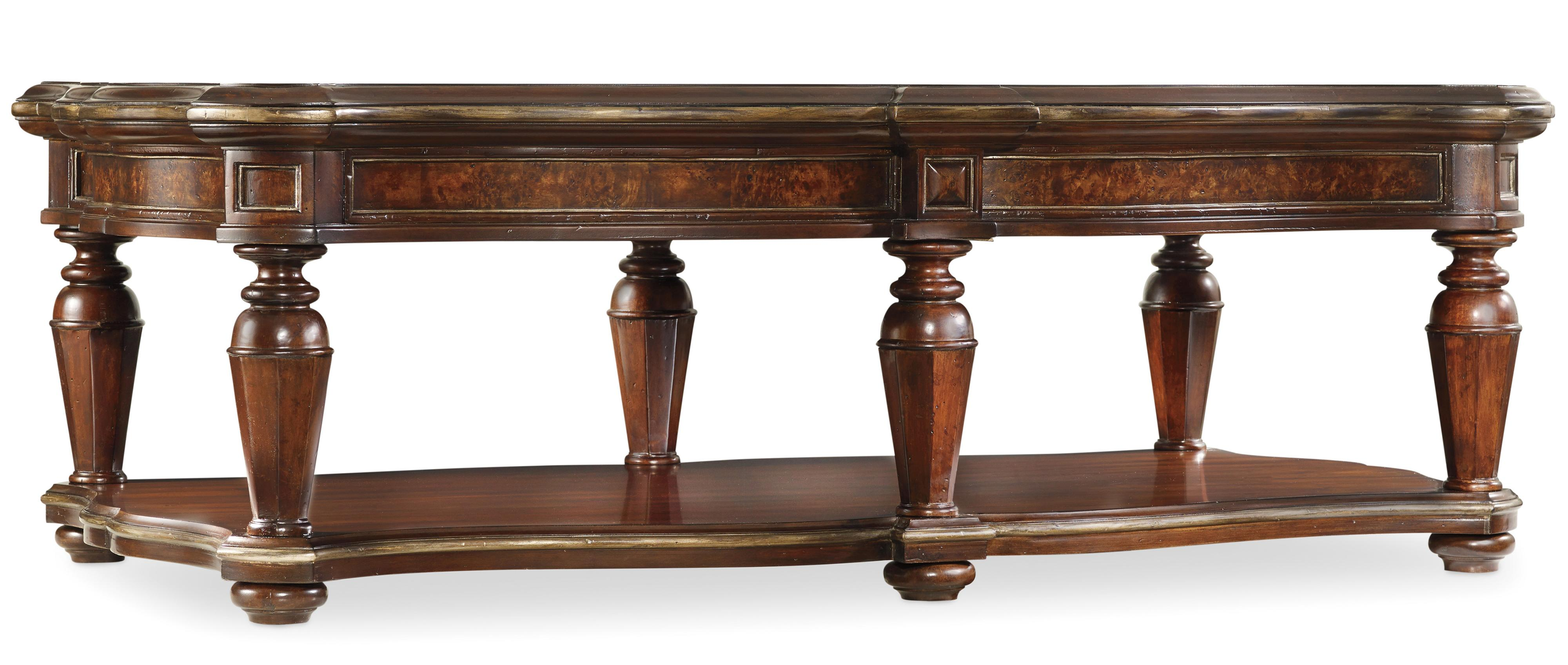 Hamilton Home Grand Palais Rectangle Cocktail Table - Item Number: 5272-80110