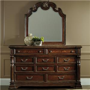 Hamilton Home Grand Palais Dresser and Mirror Set