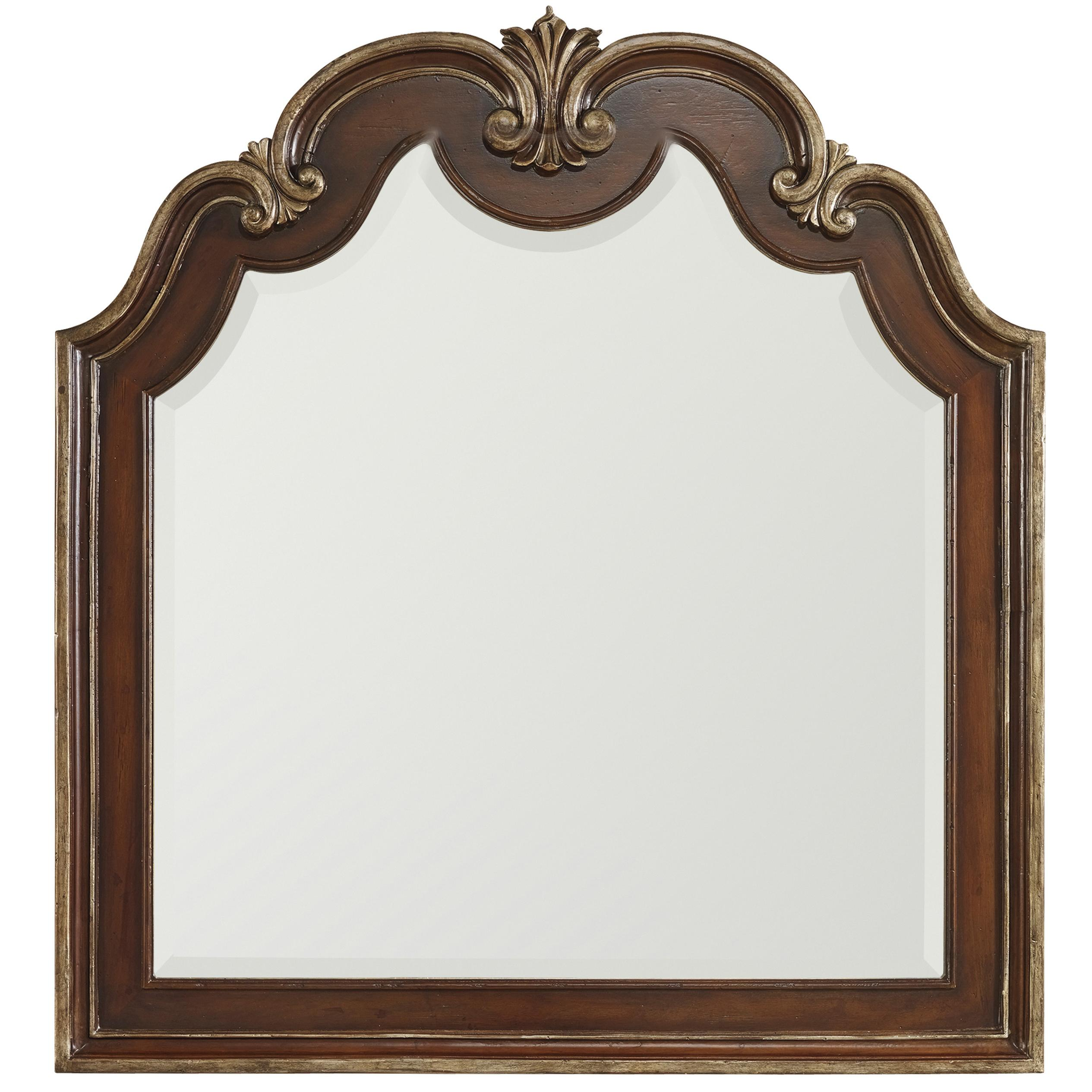 Hamilton Home Grand Palais Shaped Top Portrait Mirror - Item Number: 5272-90004