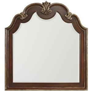 Hamilton Home Grand Palais Shaped Top Portrait Mirror