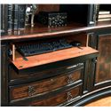 Hooker Furniture Grandover Office Credenza with Locking File Drawer, Drop Front Drawer and 2 Doors - 5029-10265 - Drop Front Drawer for Keyboard/Laptop Storage
