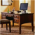 Hooker Furniture Seven Seas Double Pedestal Writing Desk