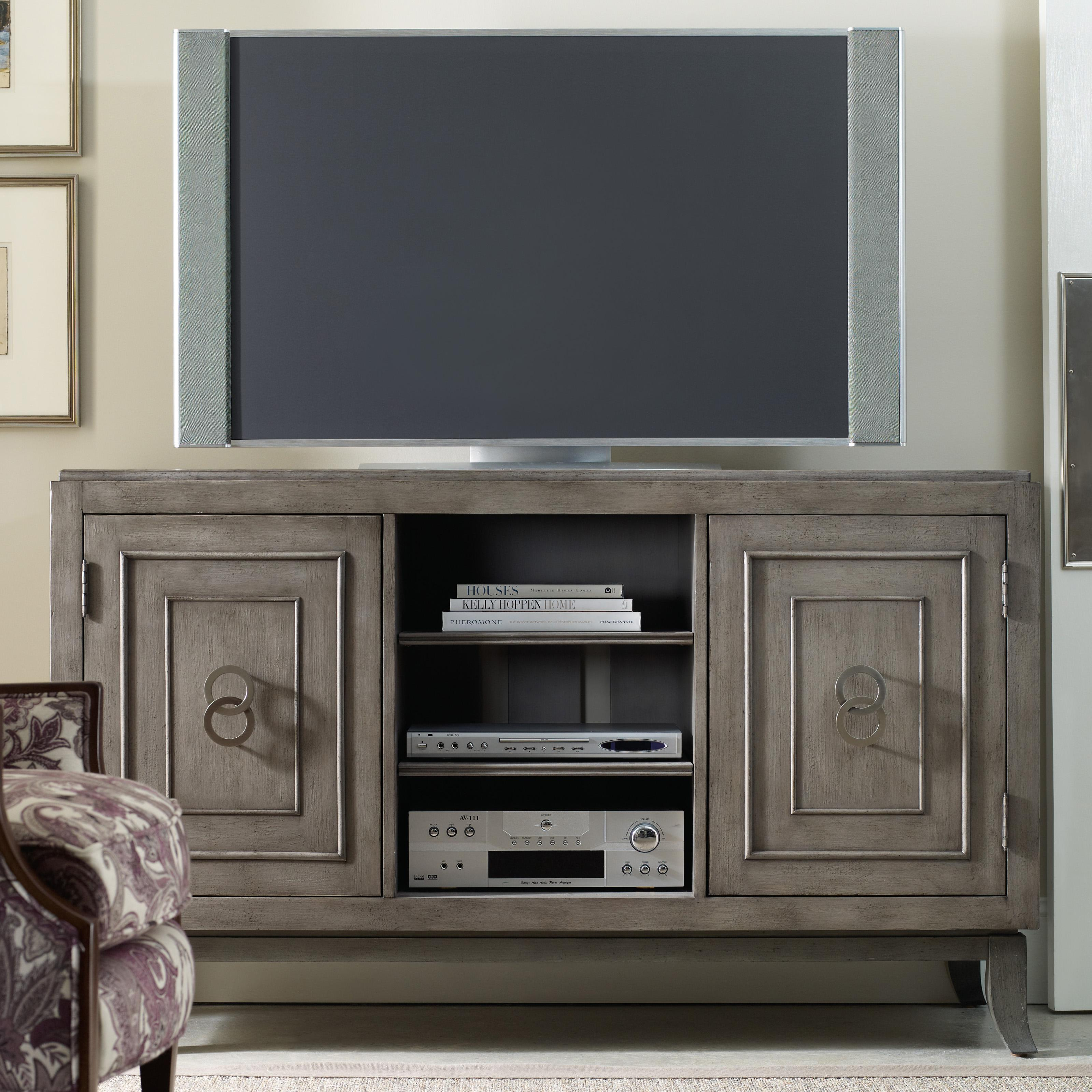 Hooker Furniture Seven Seas 60-Inch Entertainment Console - Item Number: 500-55-123
