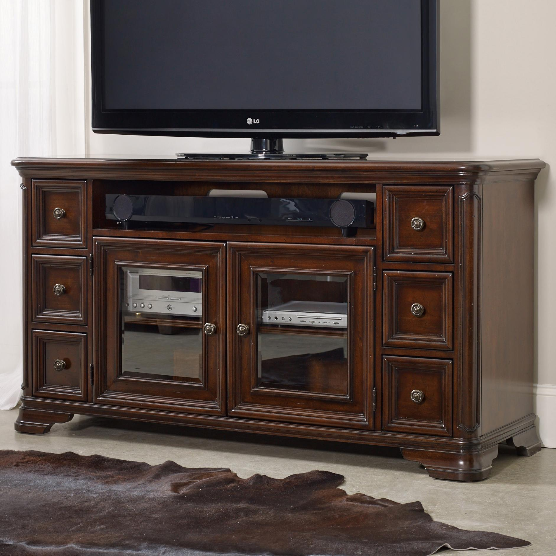 Hamilton Home Haddon Hall 64 Inch Entertainment Console  - Item Number: 5238-55458