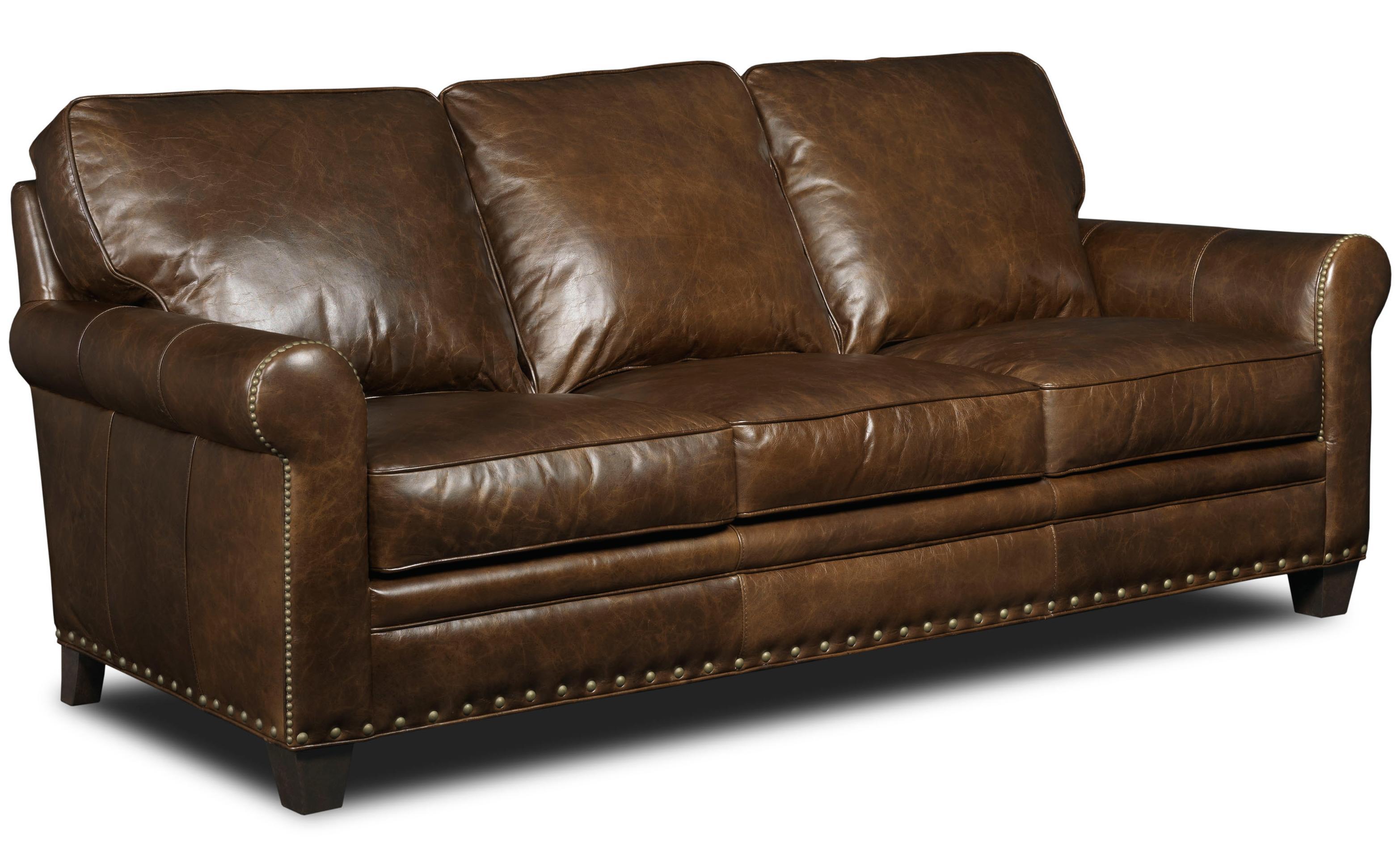 Hooker Furniture Hemingway Eden Transitional Stationary Sofa - Item Number: SS167-03-088