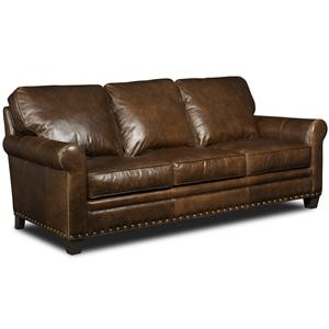 Hooker Furniture Hemingway Eden Transitional Stationary Sofa