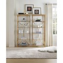 Hooker Furniture Highland Park Bunching Etagere with Glass Shelves