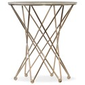 Hooker Furniture Highland Park Round End Table w/Marble Top - Item Number: 5443-50416