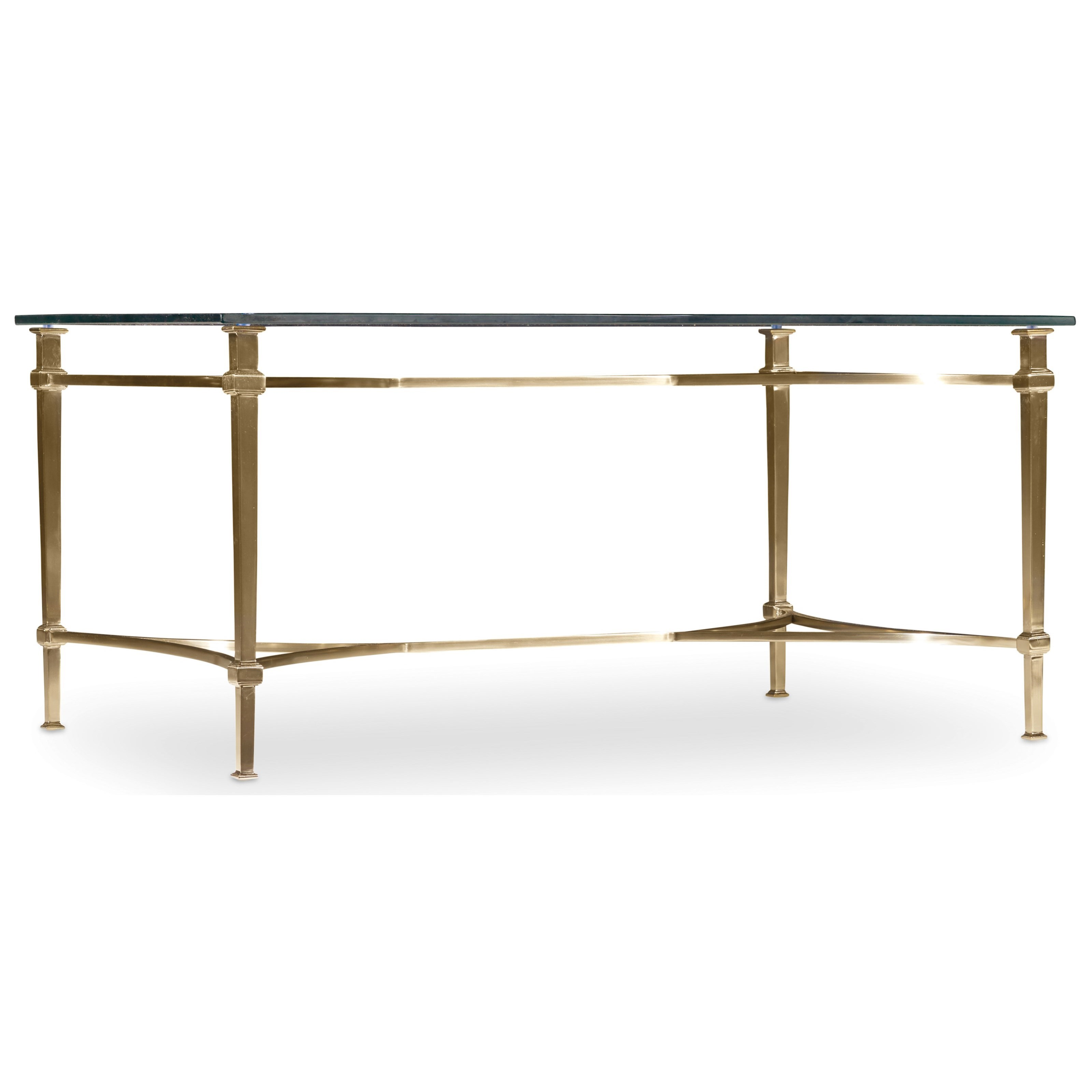 Hooker Furniture Highland Park Rectangle Cocktail Table - Item Number: 5443-80110