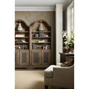 Hooker Furniture Hill Country Pleasanton Bunching Bookcase with Lighting