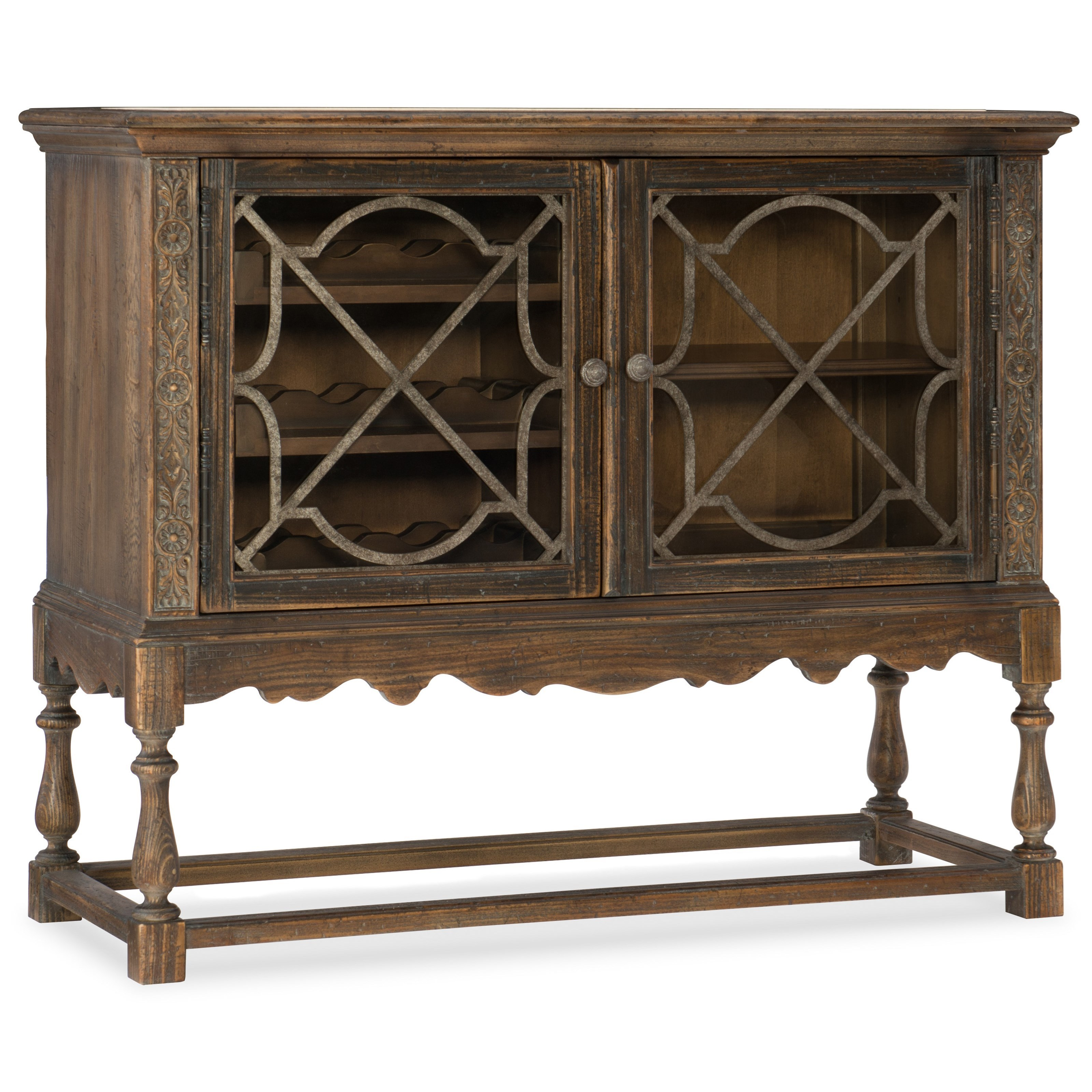 Hill Country La Coste Wine Cellaret by Hooker Furniture at Baer's Furniture