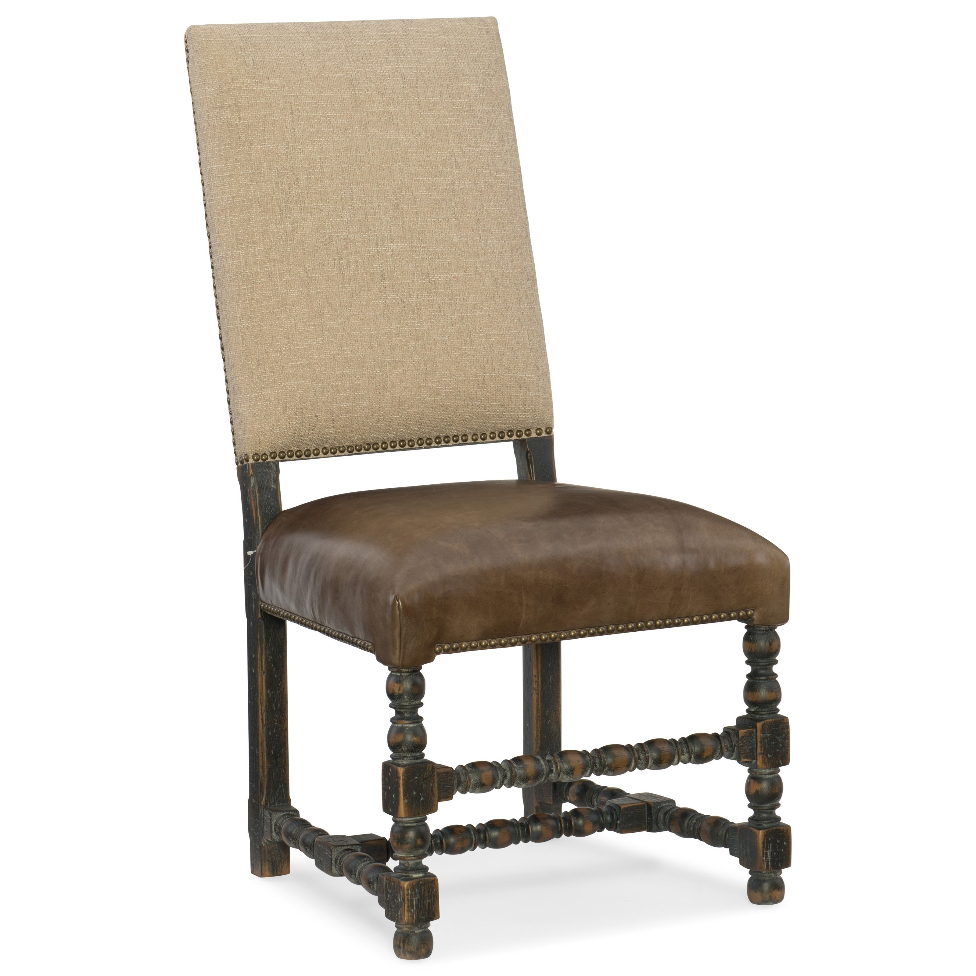 Hill Country Comfort Upholstered Side Chair by Hooker Furniture at Stoney Creek Furniture