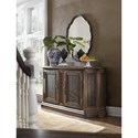 Hooker Furniture Hill Country North Cliff Sideboard with Silverware Tray