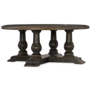 Hamilton Home Hill Country Medina Round Cocktail Table