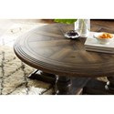 Hooker Furniture Hill Country Medina Round Cocktail Table