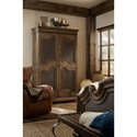 Hooker Furniture Hill Country Lakehills Wardrobe with Full Length Mirror
