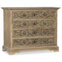 Hooker Furniture Hill Country Floresville Bachelors Chest - Item Number: 5960-90017-MWD