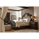 Hooker Furniture Hill Country Fair Oaks Queen Upholstered Bed