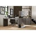 Hooker Furniture House Blend Two-Door Storage Unit with Adjustable Shelves