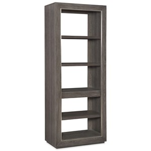 Hooker Furniture House Blend Etagere with Adjustable Shelves