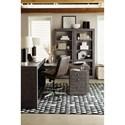 Hooker Furniture House Blend Four Shelf Etagere with Three Adjustable Shelves