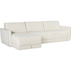 Power Sleeper Loveseat with Chaise