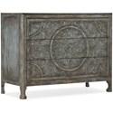 Hooker Furniture La Grange Lockhart Three-Drawer Accent Chest - Item Number: 6960-50007-45