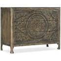 Hooker Furniture La Grange Lockhart Three-Drawer Accent Chest - Item Number: 6960-50007-80