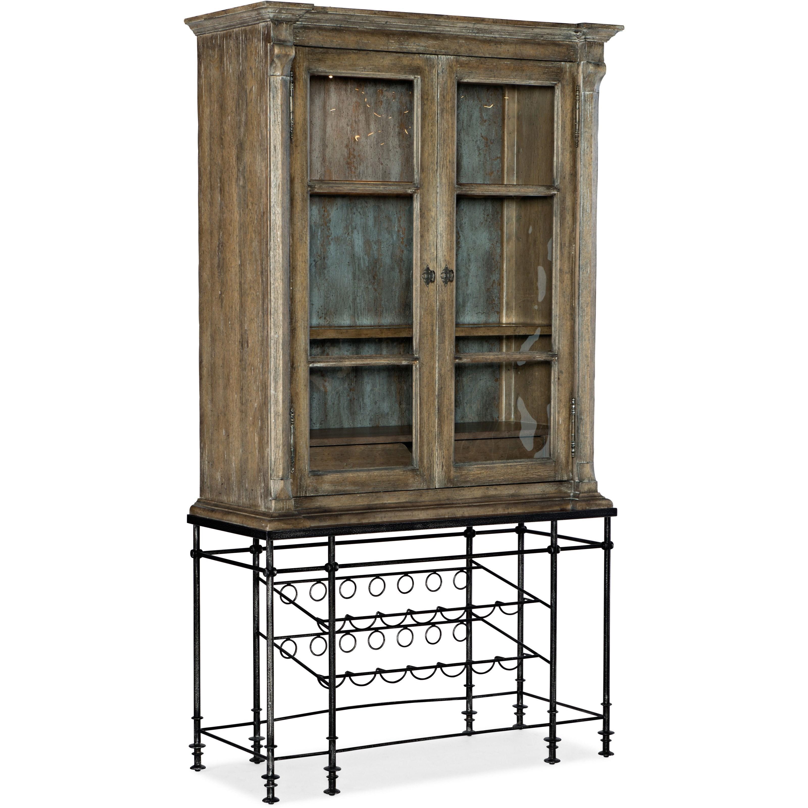 La Grange OQuinn Bar Cabinet by Hooker Furniture at Baer's Furniture