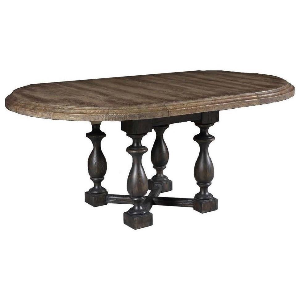 La Grange Ellinger 48 inch Round Dining Table w/Leaves by Hooker Furniture at Baer's Furniture