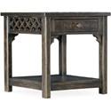 Hooker Furniture La Grange Burnham End Table - Item Number: 6960-80113-89