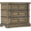 Hooker Furniture La Grange Jefferson Three-Drawer Nightstand - Item Number: 6960-90016-80