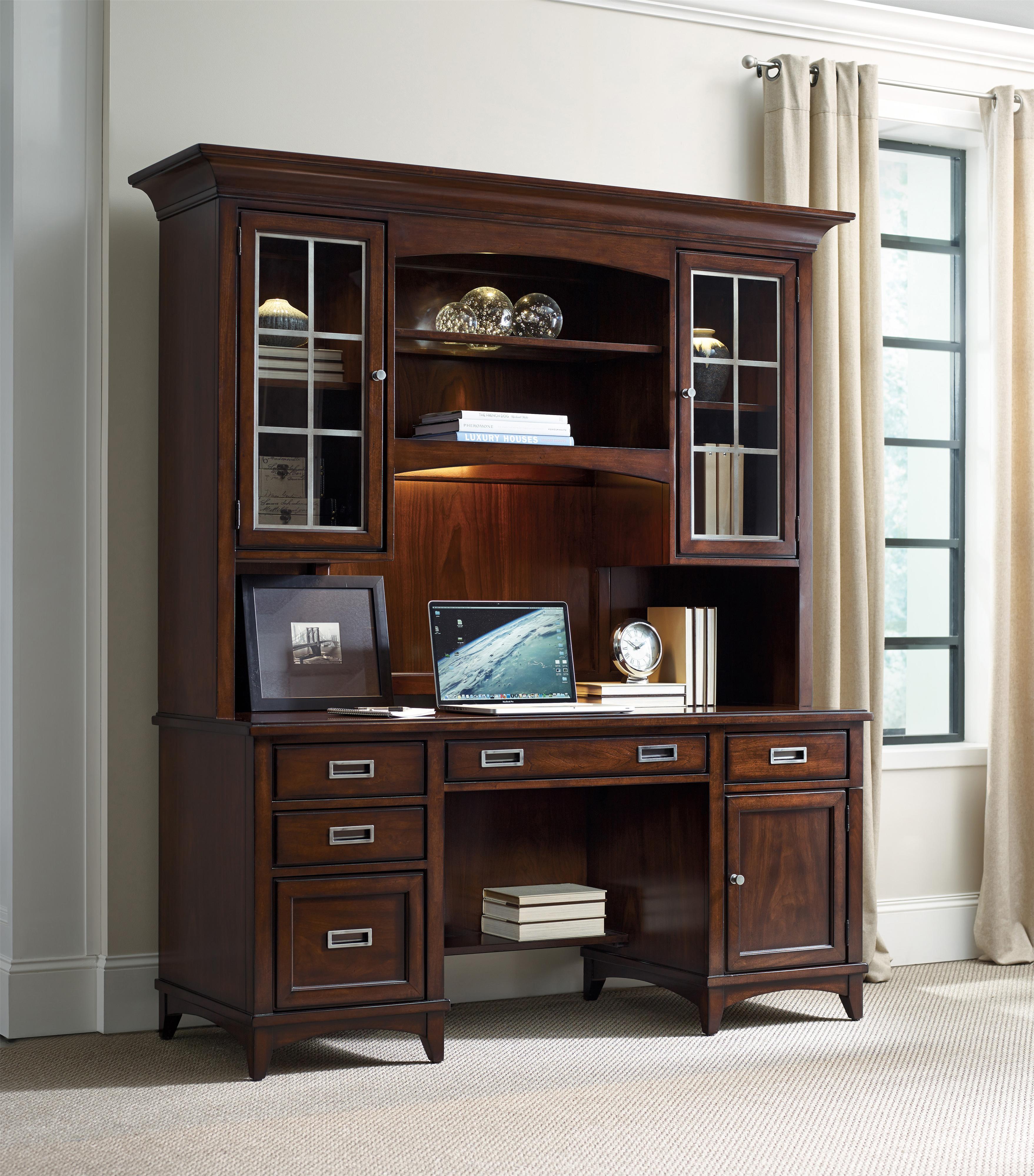 Hooker Furniture Latitude 5167-10464 Walnut Computer